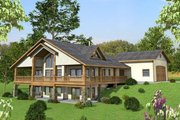 Ranch Style House Plan - 3 Beds 3.5 Baths 3304 Sq/Ft Plan #117-877