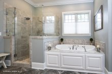 Dream House Plan - Traditional Interior - Master Bathroom Plan #929-811