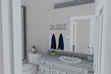 Architectural House Design - Ranch Interior - Bathroom Plan #1060-39