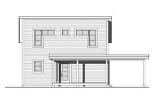Home Plan - Contemporary Exterior - Front Elevation Plan #23-2631