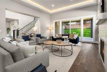 House Plan Design - Contemporary Interior - Family Room Plan #1066-62