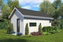 Contemporary Exterior - Rear Elevation Plan #48-1024