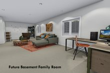 Home Plan - Future Finished Basement Family Room