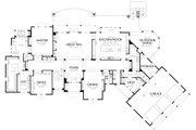 European Style House Plan - 5 Beds 5.5 Baths 7031 Sq/Ft Plan #48-362 Floor Plan - Main Floor