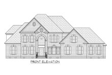 Dream House Plan - Traditional Exterior - Front Elevation Plan #1054-80