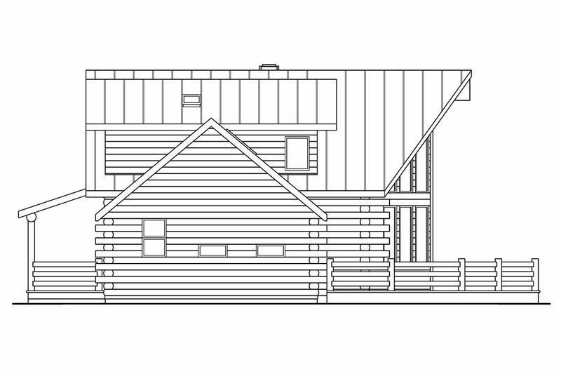 Contemporary Exterior - Other Elevation Plan #124-264 - Houseplans.com