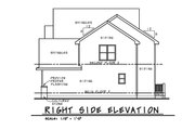 Traditional Style House Plan - 4 Beds 3.5 Baths 2527 Sq/Ft Plan #20-2279 Exterior - Other Elevation