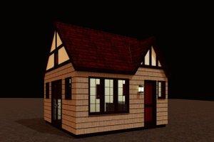 Craftsman Exterior - Front Elevation Plan #917-29