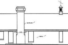 Home Plan - Ranch Exterior - Rear Elevation Plan #45-235