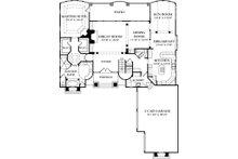 European Floor Plan - Main Floor Plan Plan #453-39