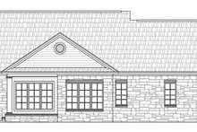 Country Exterior - Rear Elevation Plan #21-226