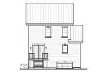 Home Plan - Country Exterior - Rear Elevation Plan #23-2182