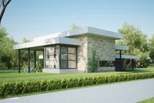 Home Plan - Modern style home designed by Arch L.A.B., elevation