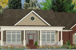 Traditional Exterior - Front Elevation Plan #63-179