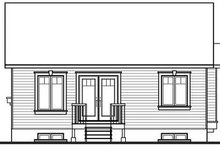 Farmhouse Exterior - Rear Elevation Plan #23-692