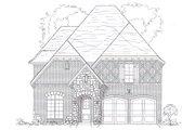 European Style House Plan - 4 Beds 3 Baths 3598 Sq/Ft Plan #141-273