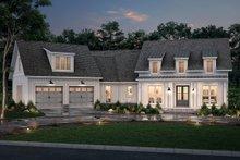 Dream House Plan - Farmhouse Exterior - Front Elevation Plan #430-231