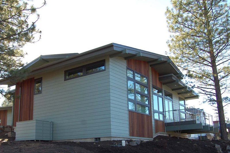 Home Plan - Modern Exterior - Other Elevation Plan #895-24