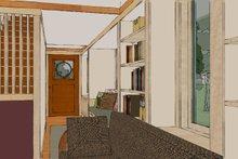 Craftsman Interior - Entry Plan #454-13