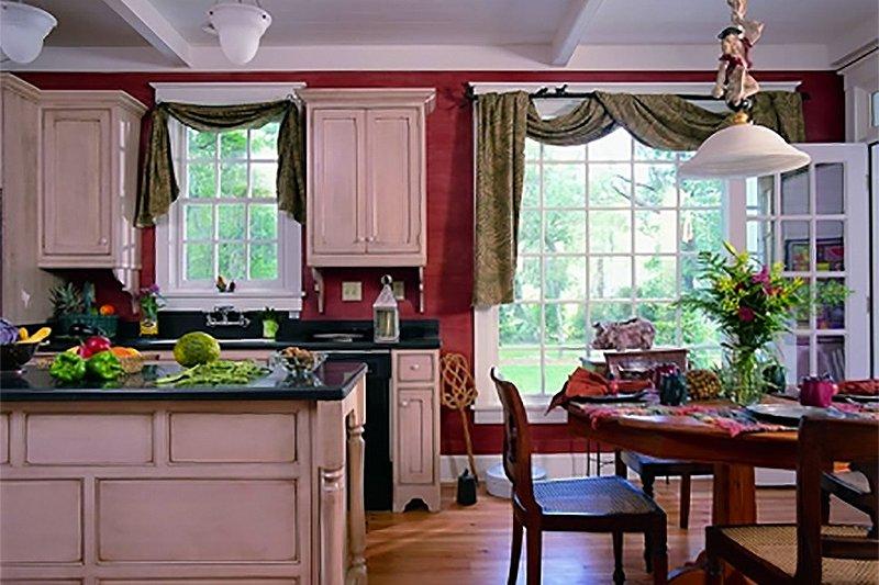 Southern Interior - Kitchen Plan #137-165 - Houseplans.com