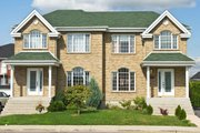 Traditional Style House Plan - 6 Beds 1.5 Baths 2724 Sq/Ft Plan #138-350 Exterior - Front Elevation