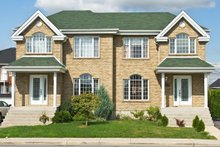 Dream House Plan - Traditional Exterior - Front Elevation Plan #138-350