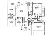 Country Style House Plan - 3 Beds 2.5 Baths 2051 Sq/Ft Plan #1073-23