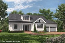 Architectural House Design - Country Exterior - Front Elevation Plan #930-469