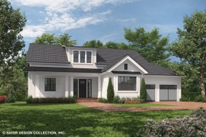 Country Exterior - Front Elevation Plan #930-469