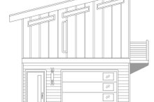House Plan Design - Contemporary Exterior - Other Elevation Plan #932-177