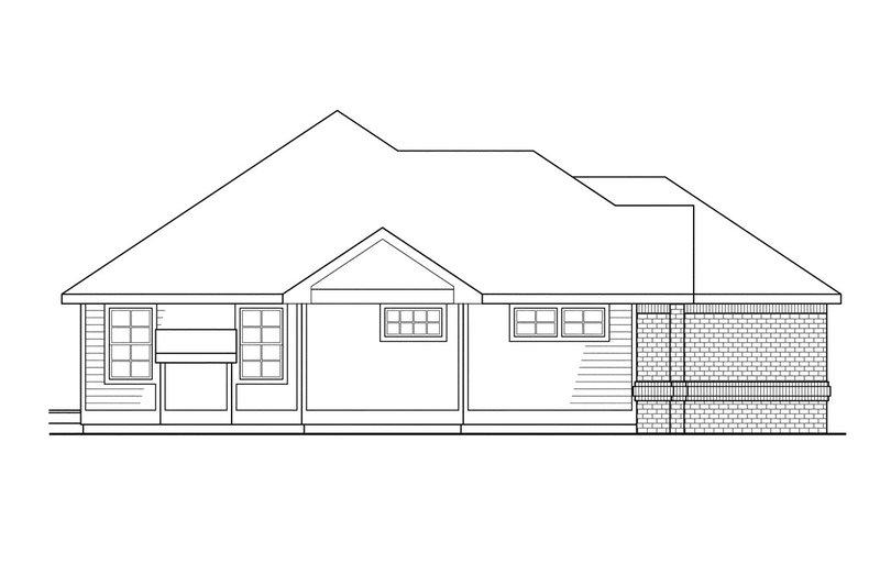 Modern Exterior - Other Elevation Plan #124-278 - Houseplans.com