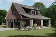 European Style House Plan - 0 Beds 1 Baths 0 Sq/Ft Plan #1064-10 Exterior - Front Elevation