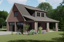 House Design - European Exterior - Front Elevation Plan #1064-10
