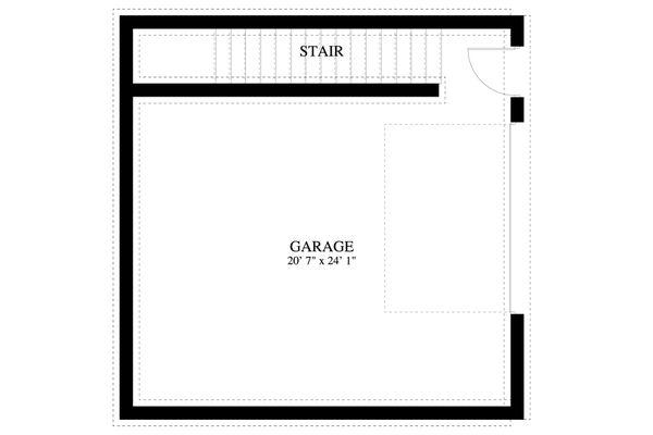 Dream House Plan - Traditional Floor Plan - Lower Floor Plan #1060-89
