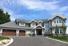 Architectural House Design - Traditional Exterior - Front Elevation Plan #23-2311