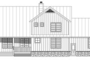 Farmhouse Style House Plan - 3 Beds 2.5 Baths 2400 Sq/Ft Plan #932-137 Exterior - Rear Elevation