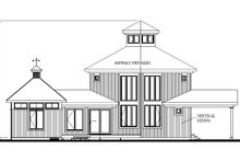 Contemporary Exterior - Other Elevation Plan #23-2020