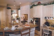 Southern Style House Plan - 4 Beds 3.5 Baths 3072 Sq/Ft Plan #20-254 Interior - Kitchen