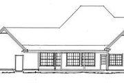 Farmhouse Style House Plan - 4 Beds 3.5 Baths 2546 Sq/Ft Plan #20-342 Exterior - Rear Elevation