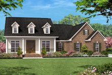 Home Plan - Colonial Exterior - Front Elevation Plan #430-14
