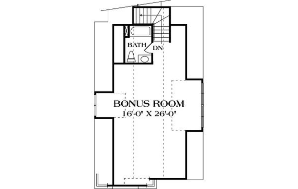 Craftsman Floor Plan - Other Floor Plan Plan #453-22