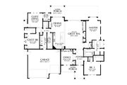 Craftsman Style House Plan - 3 Beds 3.5 Baths 2791 Sq/Ft Plan #48-989