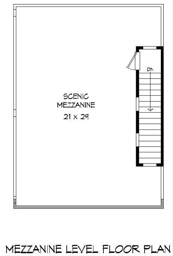 Architectural House Design - Contemporary Floor Plan - Upper Floor Plan #932-127