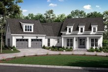 House Plan Design - Farmhouse Exterior - Front Elevation Plan #430-231