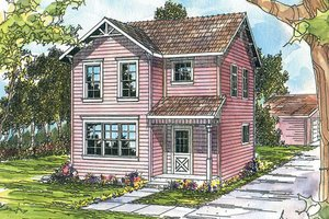 Traditional Exterior - Front Elevation Plan #124-310