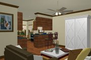 Country Style House Plan - 3 Beds 2 Baths 1327 Sq/Ft Plan #44-177 Photo