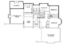 European Floor Plan - Lower Floor Plan Plan #5-318