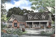 Country Style House Plan - 4 Beds 2.5 Baths 2685 Sq/Ft Plan #17-2069 Exterior - Front Elevation