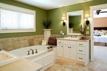 Traditional Interior - Master Bathroom Plan #56-600