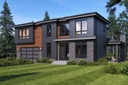 Contemporary Style House Plan - 4 Beds 3 Baths 3355 Sq/Ft Plan #1066-51